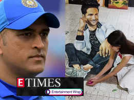 Sushant Singh Rajput's death has left MS Dhoni 'shattered and morose'; Fan remembers her favourite star Sushant with her viral 3D rangoli, and more...