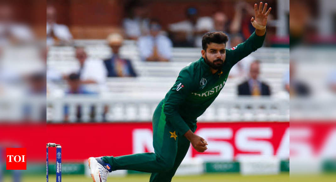 Shadab Khan, Haris Rauf and Haider Ali test COVID-19 positive ahead of team's departure to England | Cricket News – Times of India
