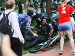 Protesters try to topple Andrew Jackson statue near White House