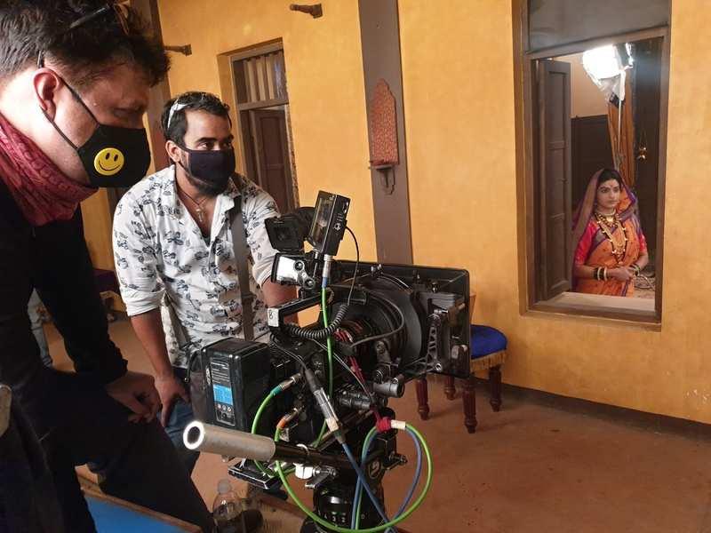 Amruta Pawar: Shoot for serial Swarajya Janani Jijamata resumes ...