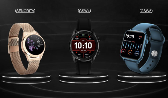 Gionee Senorita, GSW4, GSW5 smartwatches launched in India: Price, specs and more