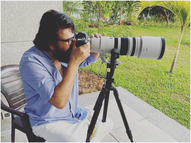 Mammootty turns photographer! And his clicks are impressive