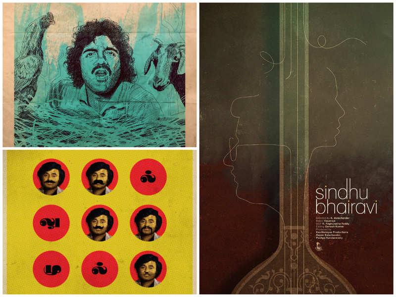Gopi Prasannaa fashions retro posters for classic Tamil films during lockdown