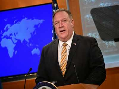 It's Israel's CHOICE whether to annex West Bank, Pompeo proclaims