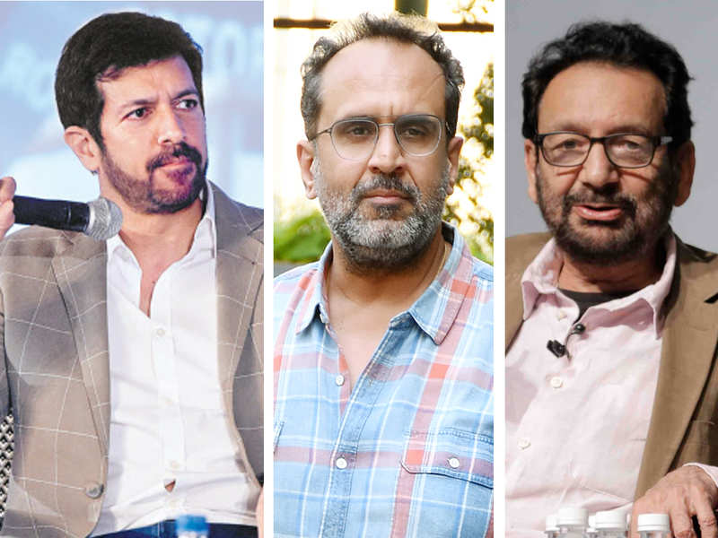 Film Directors Kabir Khan, Aanand L Rai and Shekhar Kapur discussing the future of films in the post COVID world