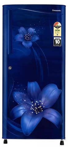 Panasonic 194 L 3 Star Inverter Direct-Cool Single Door Refrigerator (NR-A193VFAX1, Blue Floral)