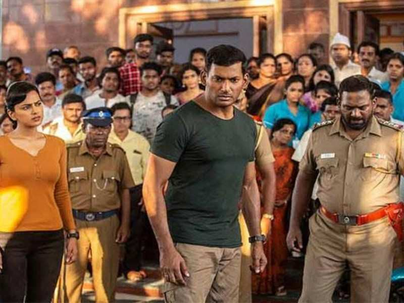 Fans wonder if Vishal's 'Chakra' will be released simultaneously in four languages as the trailer is set to follow the same