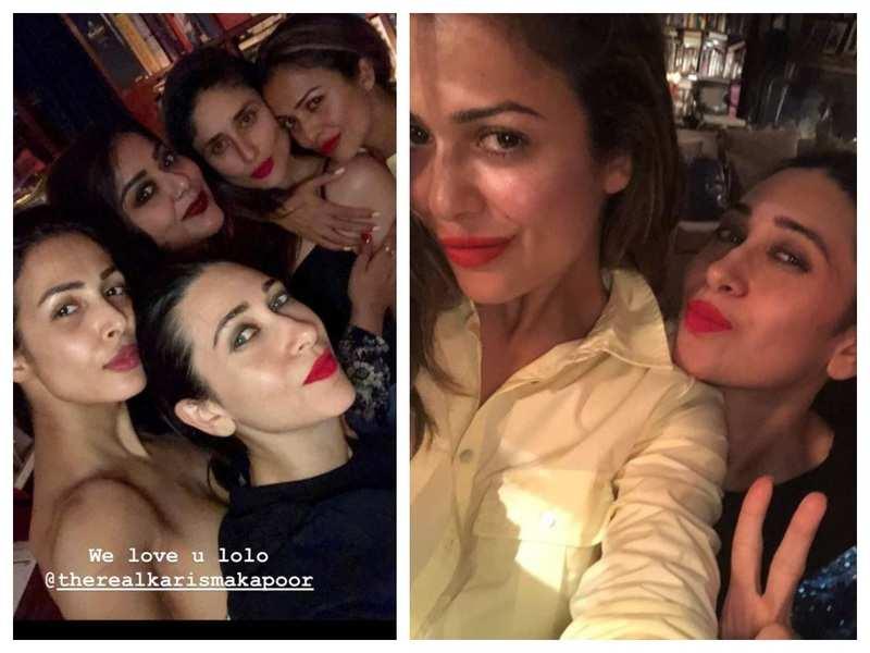 Malaika and Amrita Arora wish Karisma Kapoor on her birthday with lovely pictures