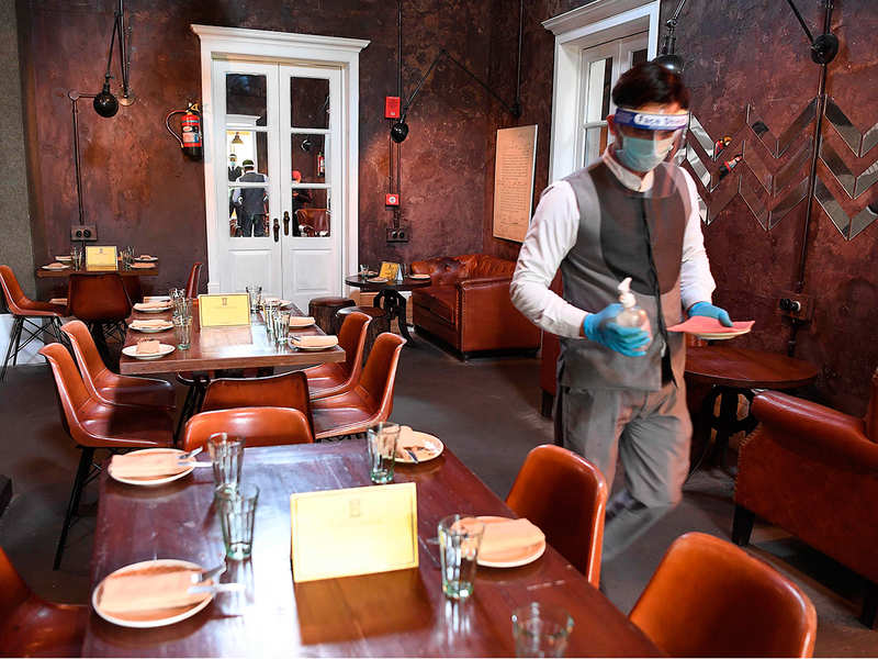 National Restaurant Association of India unveils guidelines to make restaurants 'COVID-proof' - Times of India