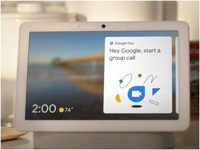 Google rolls out group calling support on smart displays