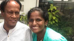 Cricketer Thirush Kamini talks about helping her father with tech skills