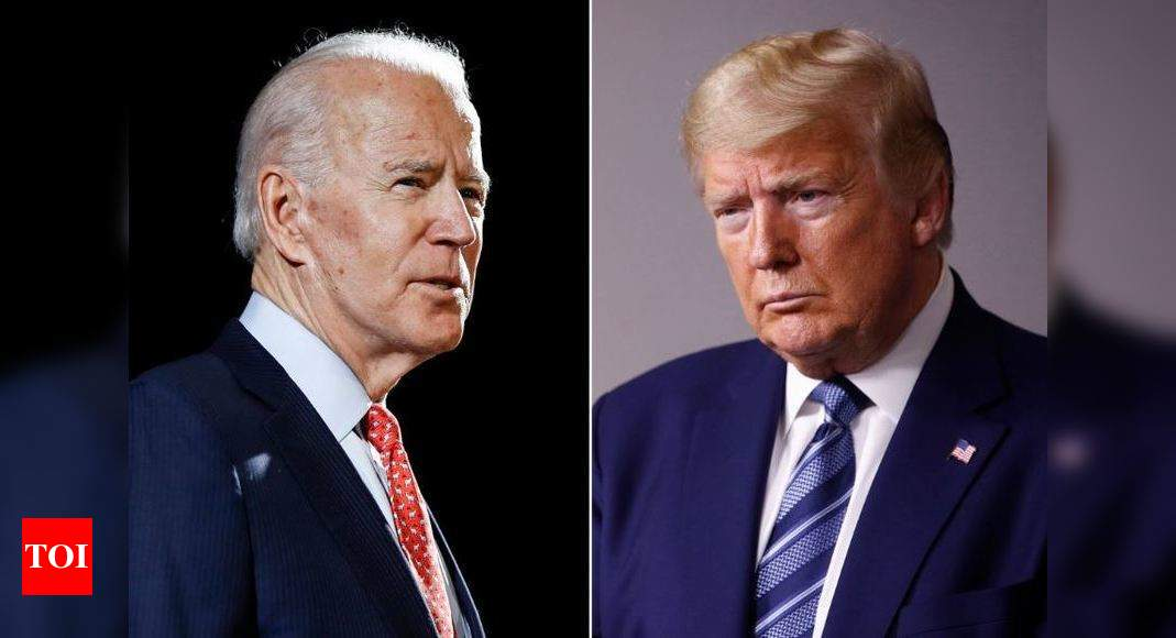 Polls present Biden heading for landslide with Trump rout if elections held as we speak thumbnail