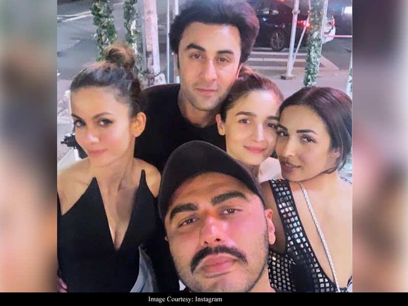 Alia Bhatt shares an UNSEEN throwback with Ranbir Kapoor, Arjun Kapoor and Malaika Arora from their New York trip