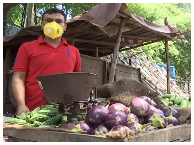 COVID impact: Jobless English lecturer turns vegetable vendor