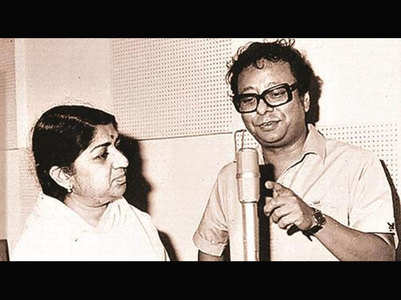 Lata Didi pens a note for late RD Burman