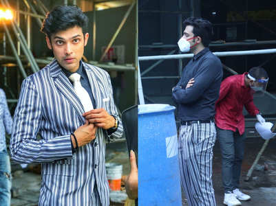 Parth Samthaan resumes shoot for Kasautii