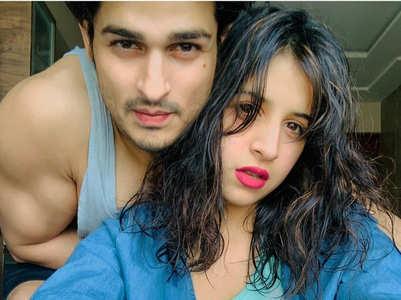 Priyank, Benafsha's cute video on double chin
