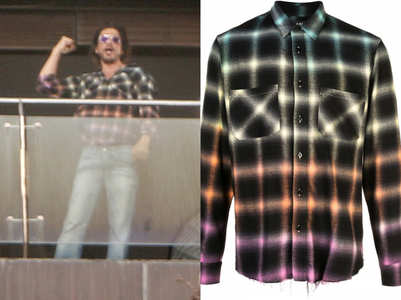 SRK wore a shirt worth half a lakh rupees at home