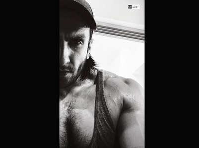 PIC:Ranveer's impressive post-workout selfie
