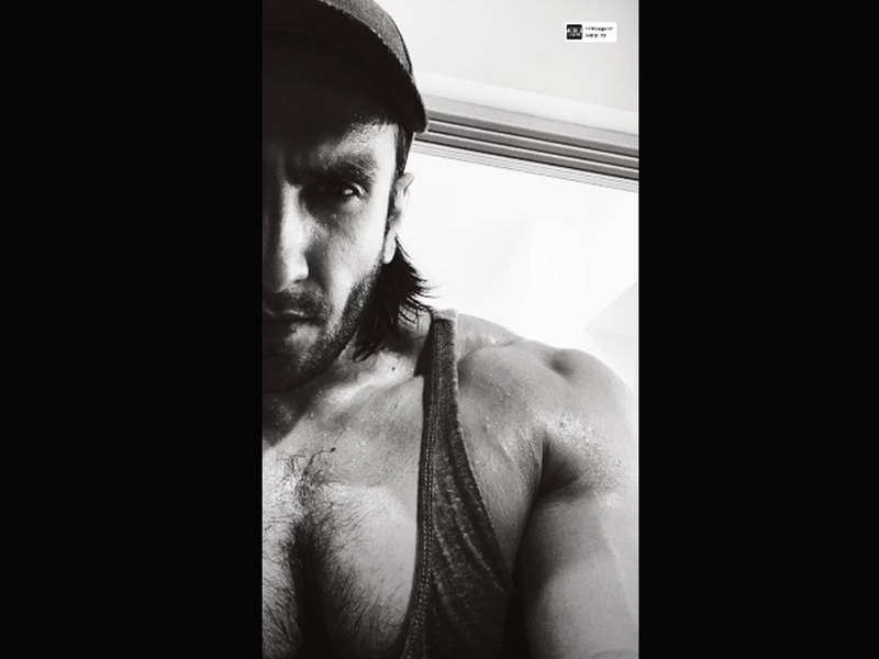 Ranveer Singh's post-workout selfie is all things motivational