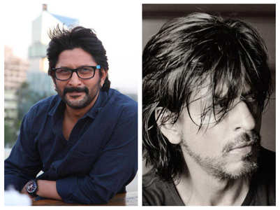 Arshad Warsi reacts to SRK's dapper picture