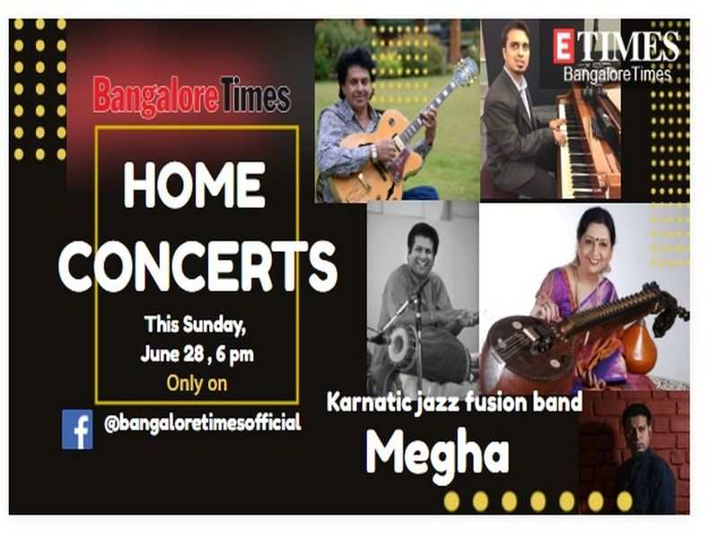 Jazz and carnatic tunes galore at today's Bangalore Times Home Concerts
