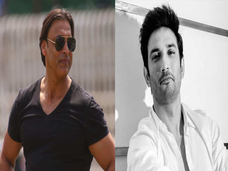 Shoaib Akhtar regrets not stopping late Sushant Singh Rajput and talking to him