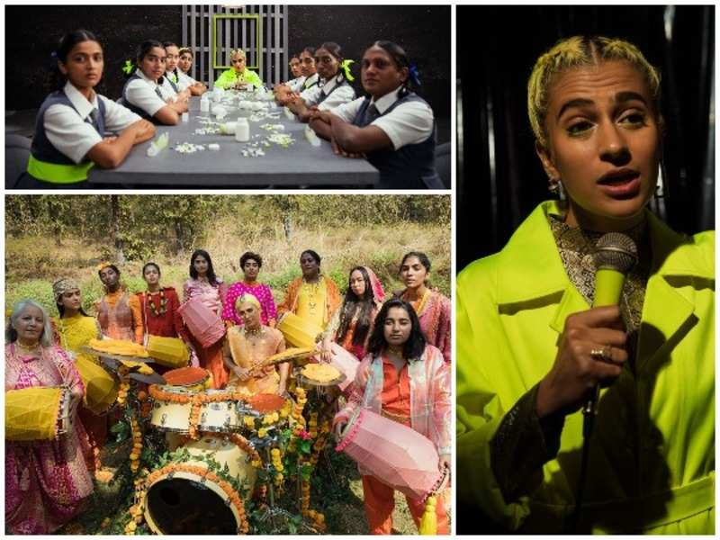Madame Gandhi's protest anthem has an all-women, queer, trans, gender non-conforming team