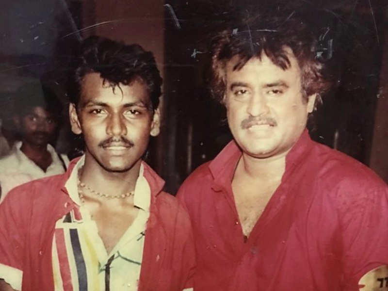 #Throwback: Raghava Lawrence as a group dancer in Rajinikanth's Uzhaippali
