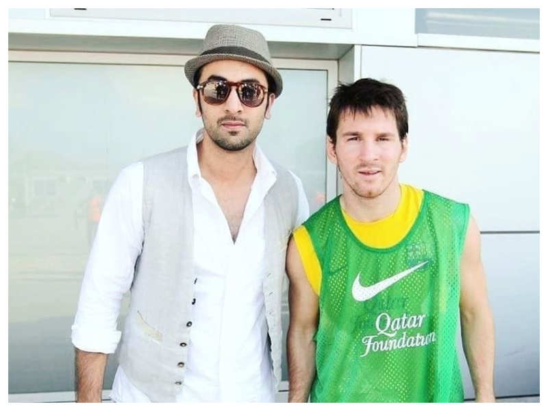 Throwback Time: When Ranbir Kapoor had a fan moment with his football idol Lionel Messi