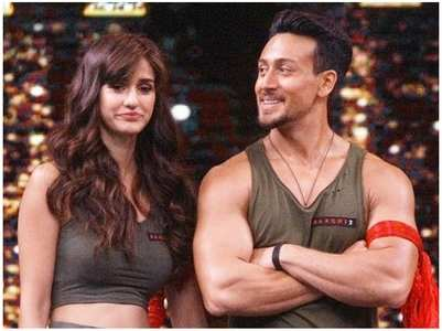 Disha bowled over by Tiger's latest video