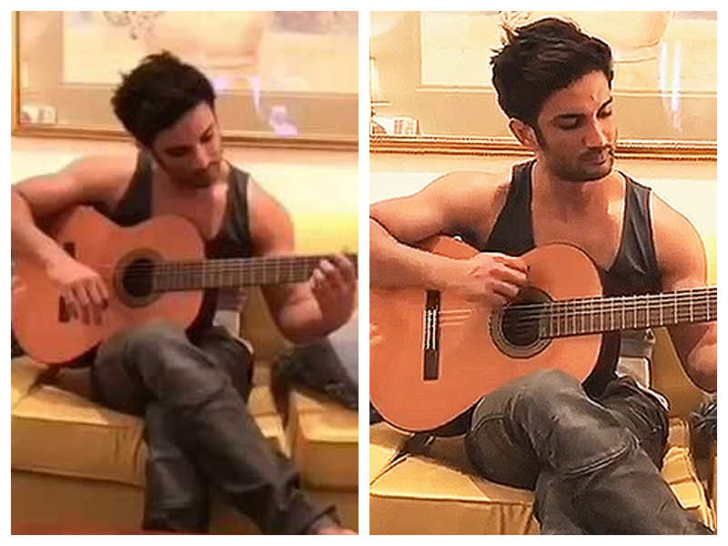 Watch: THIS throwback video of Sushant Singh Rajput playing guitar will drive away your Monday blues