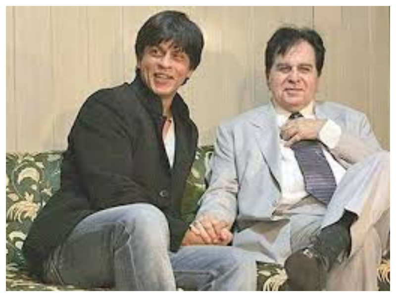 Did you know that Shah Rukh Khan's mother thought that he looked like Dilip Kumar?