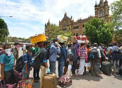 Create infrastructure in UP, Bihar to decongest Mumbai: Sena | India News 1