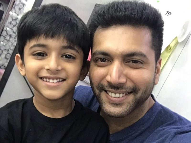Shakti Soundar Rajan wishes Jayam Ravi's son Aarav on his birthday