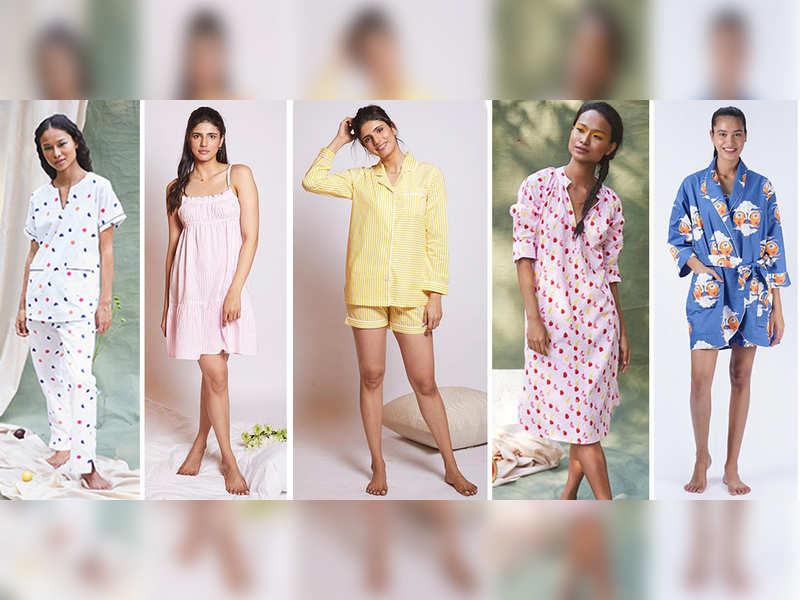 Different types of sleepwear to lounge in - Times of India