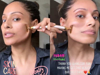 Here's how Bipasha is pampering her skin