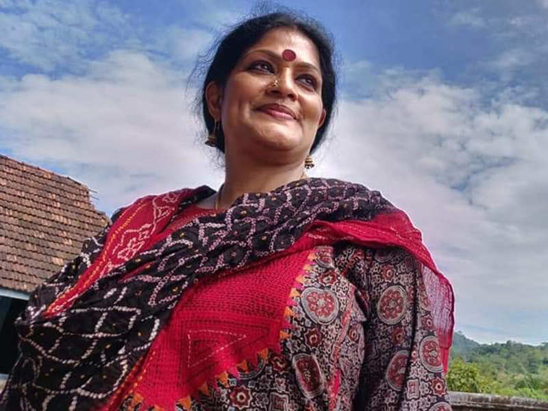 Bharatnatyam dancer Geeta Chandran