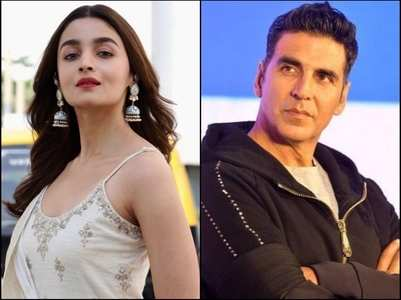 Akshay Kumar was Alia Bhatt's first co-star