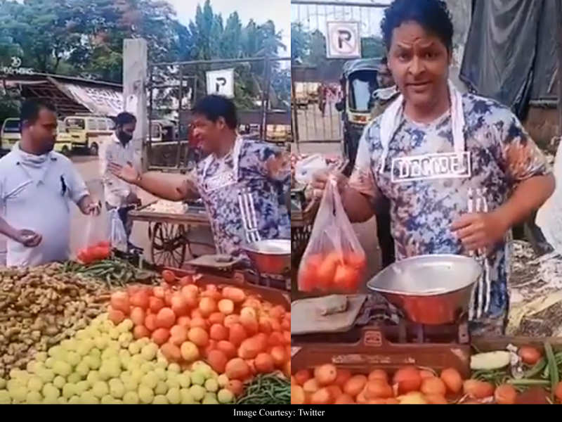 Javed Hyder has THIS to say about his viral videos where he is seen selling vegetables
