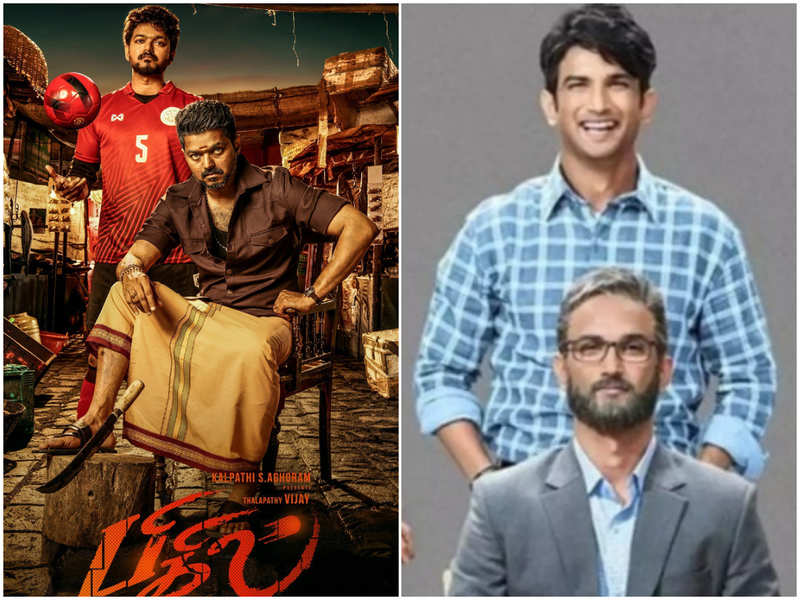 Vijay's Rayappan role in 'Bigil' inspired from Sushant Singh Rajput's role