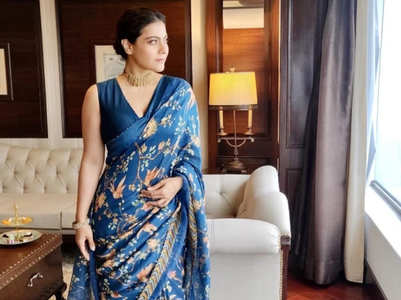 From Kajol to Deepika: Bollywood stars in blue saris