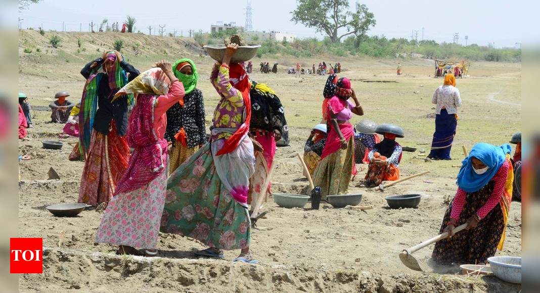 Concern in govt over reasons for NREGA boom | India News - Times of India