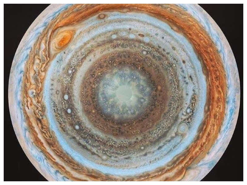 To food lovers this photo of Jupiter, released by NASA looks like a yummy Dosa!