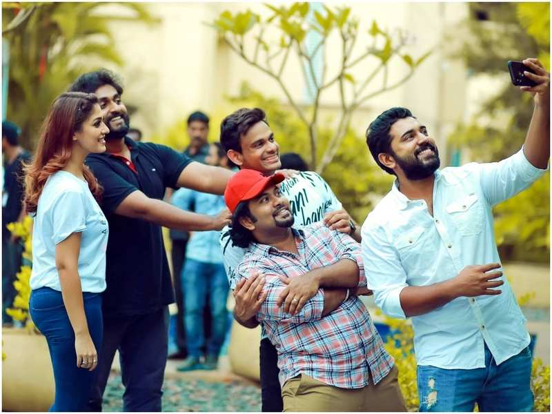 Aju Varghese shares a throwback video with Nayanthara from the set of LAD