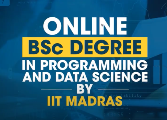 IIT Madras launches 'open-for-all' online BSc degree in programming, data science with placement support