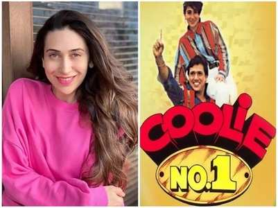 Karisma celebrates 25 years of 'Coolie No 1'