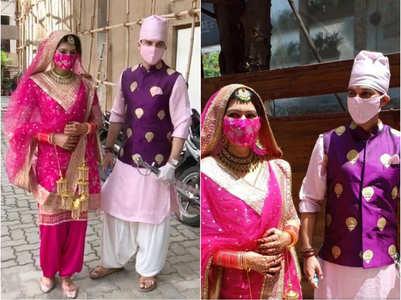 Manish ties knot with Sangeita Chauhaan