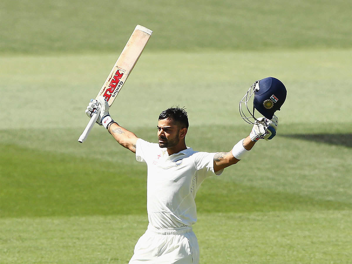 Virat Kohli: 2014 Adelaide Test an important milestone for Team India |  Cricket News - Times of India