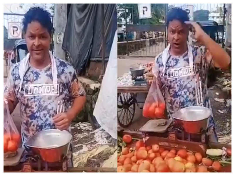 After Twitter post went viral, actor Javed Hyder clarifies he is not selling vegetables!